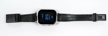gps track watchpro silber gps uhr mit spezial armband. Black Bedroom Furniture Sets. Home Design Ideas